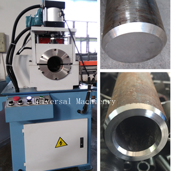 China factory price single head Chamfer Machine for pipe rod wire bar