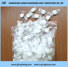 magic coin dry compressed tissue for multi-functional use HS217 Coin Compressed Tissue