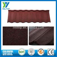 Aluminium Zinc Sand Coated Composite Roof Tiles From Gaoyao