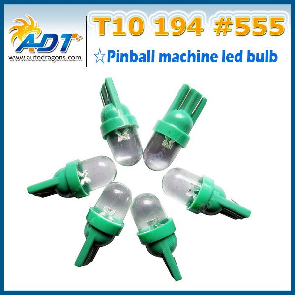 LED lamp pinball 6.3v t10 led no flickering pinball led 44 for pinball machine dance machine coin machine
