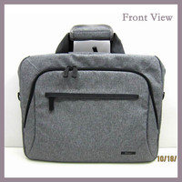 Wholesale 17 inch Cotton Fabric Material Laptop Bag
