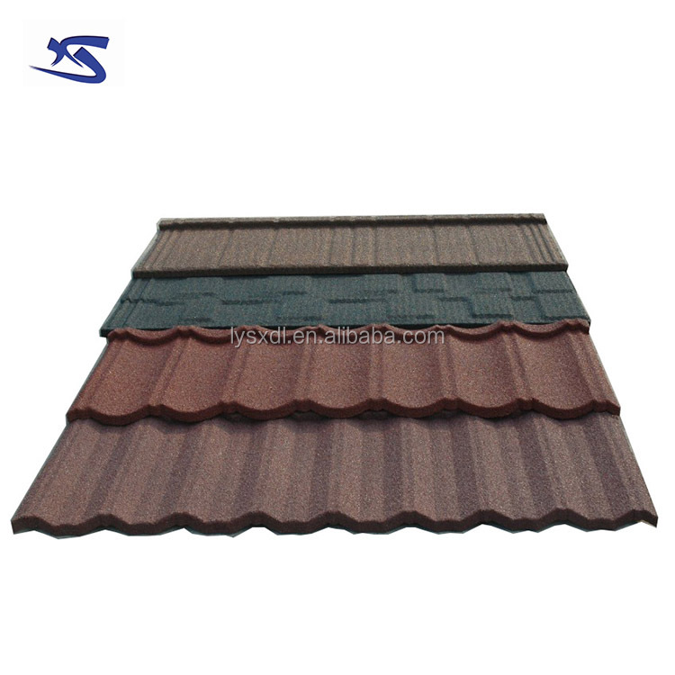 Building materials 50 years guarantee terracotta metal roof tile price malaysia