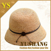womens fashion crochet raffia straw hat