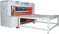 Semi-auto rotary die cutting corrugated machine