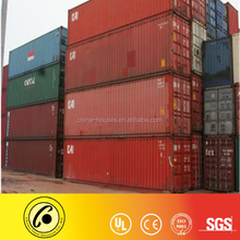 China best price 20ft 40ft used cargo shipping containers
