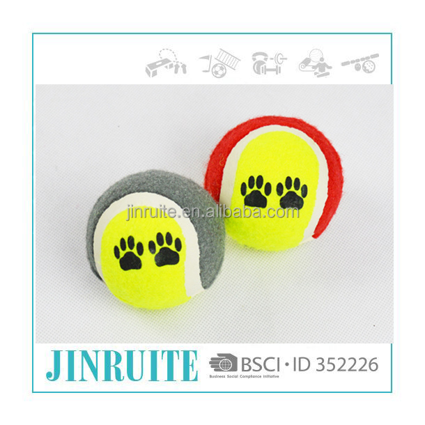 Wholesale Various Color Tennis Dog Toy Ball