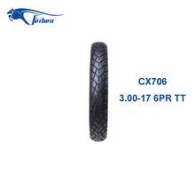 CHINA RUBBER MOTORCYCLE TIRES CX706 ALIBABA TIRES NEW TIRES WHOLESALE 3.00-17