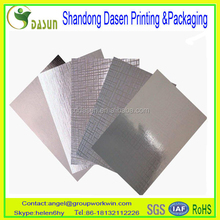 Certification and New Condition metallized paper aluminum paper metallized aluminum paper