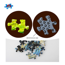 Wholesale Custom Photo Printable Cardboard Paper Jigsaw Puzzle for Kid Educational Toy