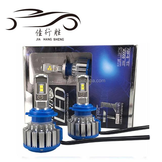 Factory direct wholesale 6000K H1 H4 H13 9004 9005 9006 9007 T1 auto led headlight