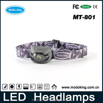 Best Red LED Headlamp powerful 3w