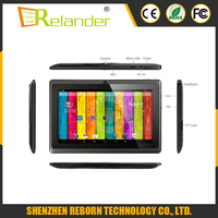 7 Inch Android Allwinner A33 1024*600 8GB ROM Android Tablet pc Without Sim Card android smart tablet pc