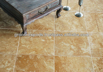 Harppan Gold Limestone Tiles & Slab