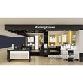 Retail store cosmetic display counter | shop shelf display cosmetic design for sale