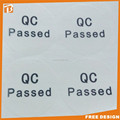 printable self-adhesive transparent certificate hologram stickers
