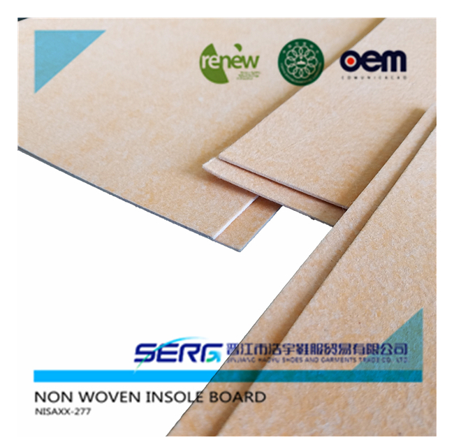 non woven insole board for rieker shoes