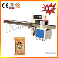 Automatic Wet Towel Horizontal Flow Packing Machine