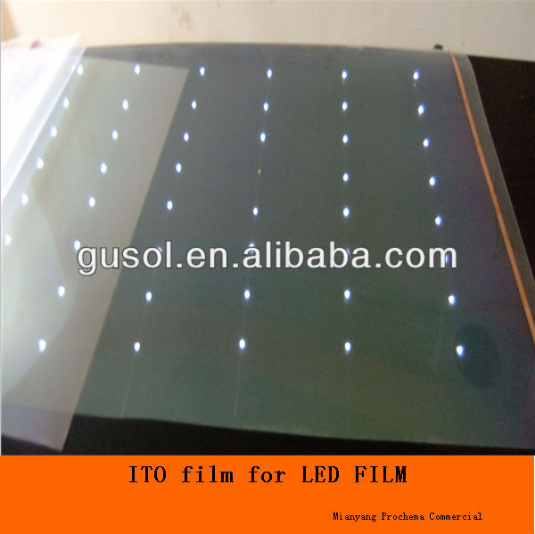 ITO PET film for defogging heating film,lcd , secrity window