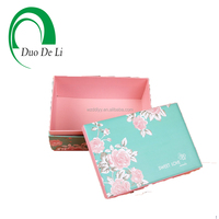 10Years Expriences Flowers wedding garment paper box wedding candies paper gift box and bag