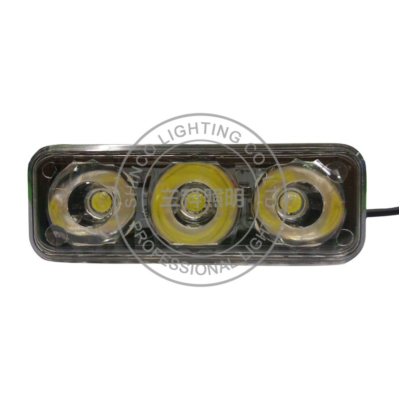 strobe yellow light warning led mini light auto led flashing light