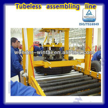 140-281mm Automatic tubeless tire assembling production line
