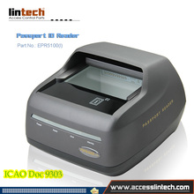 ICAO Doc 9303 standard document full page Passport scanner