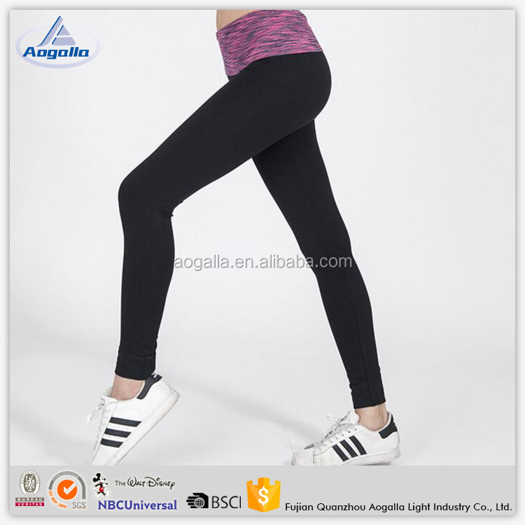New sexy spandex women sport running custom printed sexy white tights leggings
