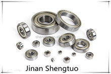 High performance Shower door bearing with double metal shield