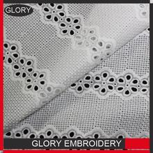 [GLORY]hangzhou chiffon fabric embroidery cotton embroidery lace/cotton crochet lace fabric and lace material with great price