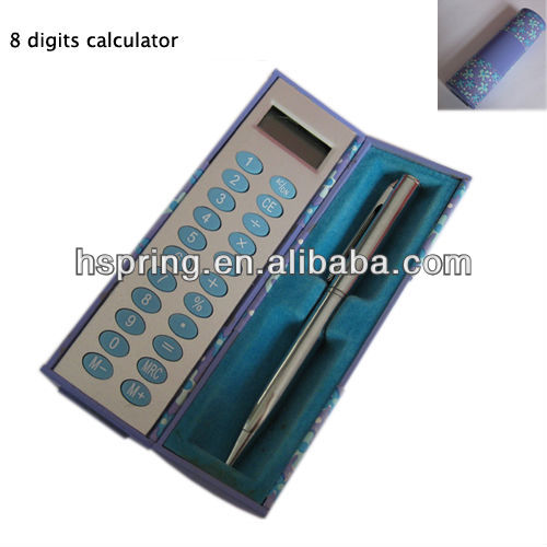 magic box calculator with ball pen