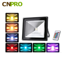 50W LED Flood Light Cold/Warm/Red/Yellow/Green/Blue/RGB Reflector Spotlight Outdoor Wall Lamp Projector