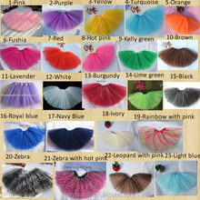 Wholesale cute colorful fluffy tutus for girls