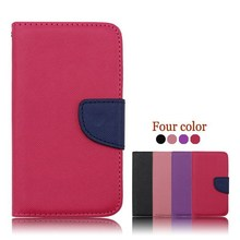 Leather mobile phone Case For meizu MX2,Flip cell phone cover For meizu MX2