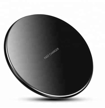 QC3.0 aluminum alloy wireless charge for iphonex 8 7 6 plus, qi wireless charger for samsung <strong>mobile</strong> <strong>phone</strong> s8 7 6 etc