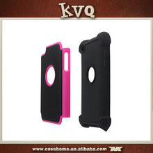 wholesale 3 in 1 tpu silicone case for iPod touch 4