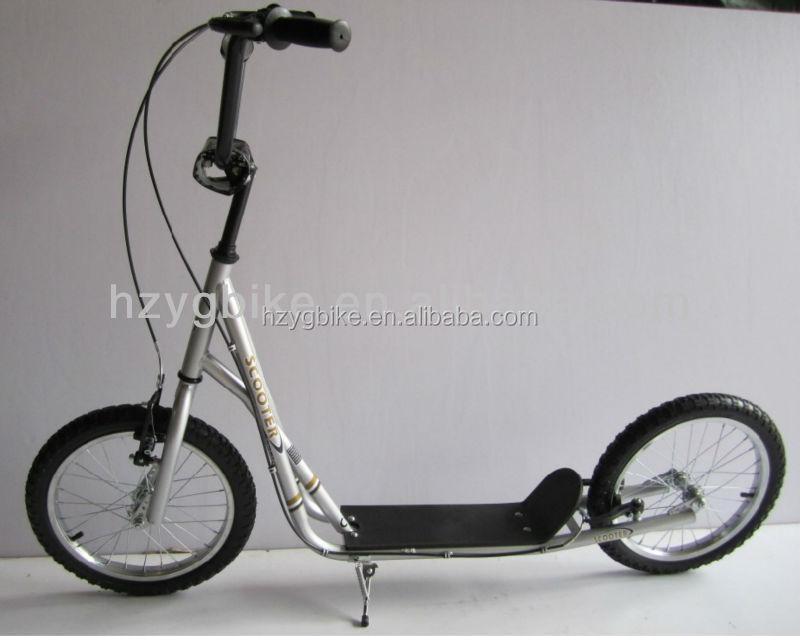 16 pouce grande roue populaire freestyle bmx scooter kick scooter pour adultes scooters v los. Black Bedroom Furniture Sets. Home Design Ideas