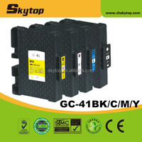 Compatible Ricoh ink cartridge GC-41 with pigment ink or sublimation ink