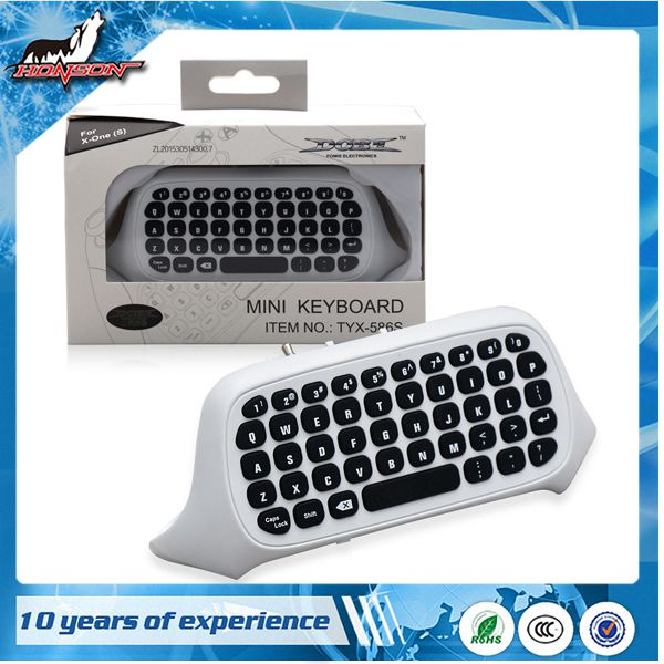 2016 Newest Model Wireless Bluetooth MIni Game Pad Keyboard For XBox ONE S SLIM controller