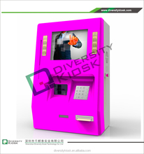 lottery ticket printing machine topup kiosk