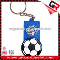 Promotional pvc world cup keychain