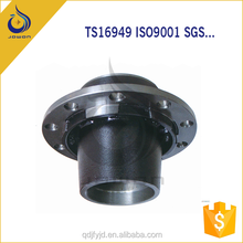 Nodular Iron Casting Small Wheel Hub /Precoated Sand Processing Parts