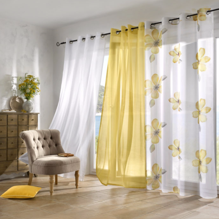 Low MOQ wide width thermal insulated wholesale ready made curtain,sunscreen fabric window curtain