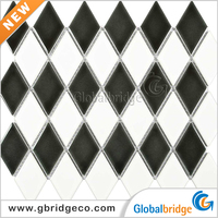 High Quality Floor Square Medallion Ceramic Mosaic And Marble For Sale