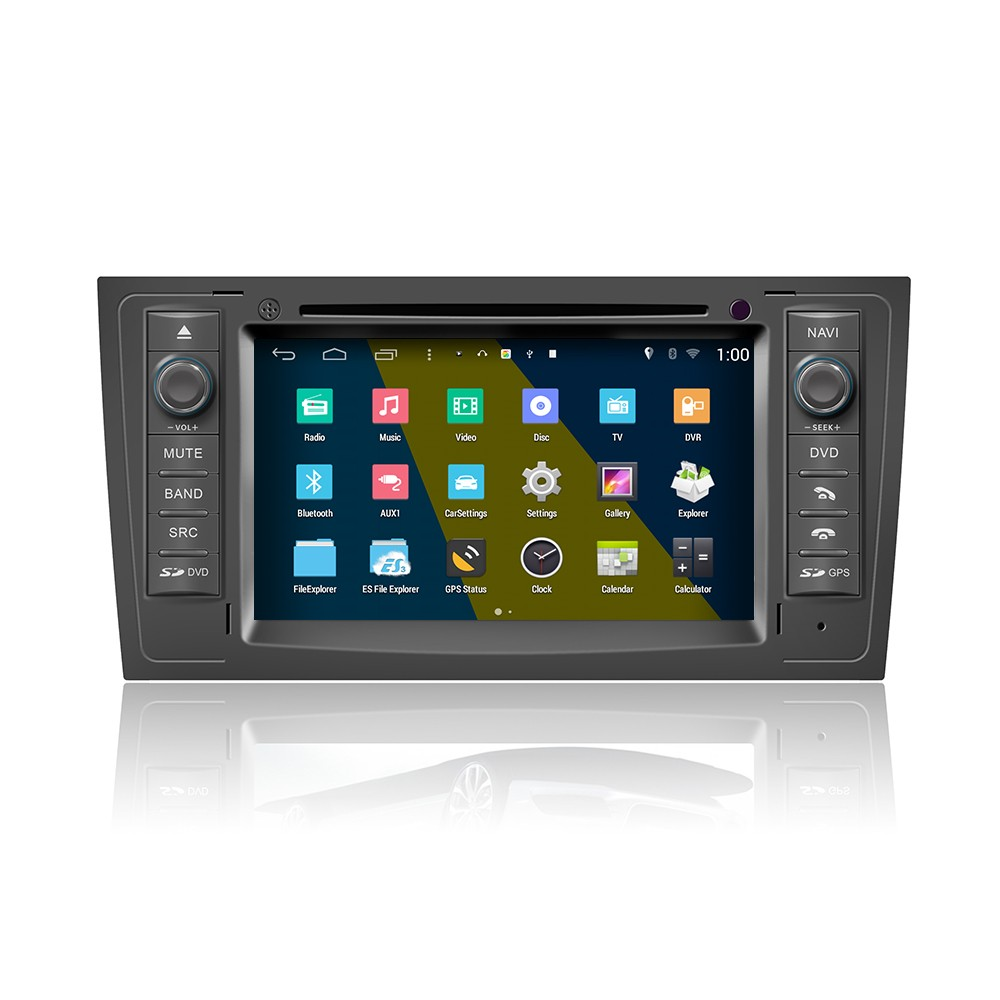Pure android 4.4 car dvd for Audi A6 1999-2004 car radio gps with DVD BT Radio GPS 3G Wifi android