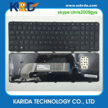 US laptop keyboard for HP Probook 450 G0 450 G1 450 G2 455 G1 keyboard with frame