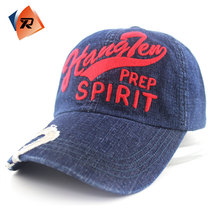 Fashion custom 3d embroidery navy baseball cap