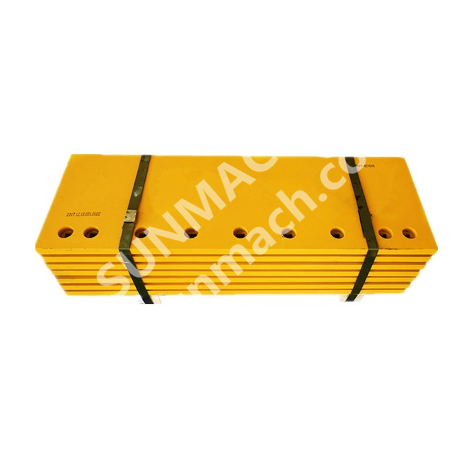 Blades Replacement 1386440 Wear Parts G.E.T SUNMACH Dozer Cutting Edge Double Bevel Bulldozer Blades Manufacturer ODM Service