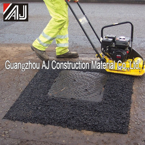 AJ all weather road surface repair cold mix asphalt material