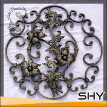 cast steel flowers for decorative items