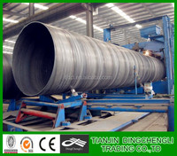 API5L X65 SSAW oil&gas sprial line welded steel pipe oil and gas